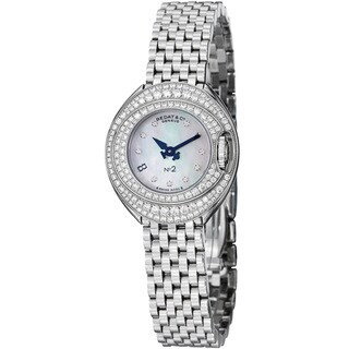 Bedat Women's 227.051.909 'No2' Mother of Pearl Diamond Dial Stainless Steel Watch