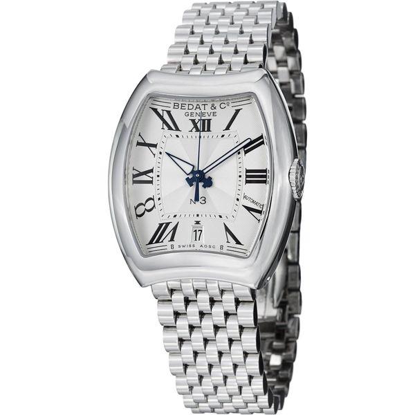 Bedat Women's 315.011.100 'No3' Water-resistant Silver-dial Stainless Steel Bracelet Watch