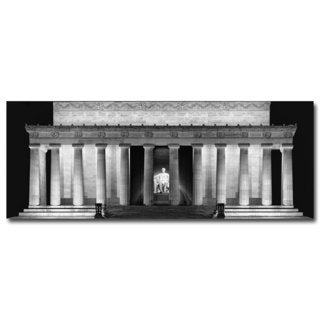 Gregory O'Hanlon 'Lincoln Memorial - Night' Canvas Art