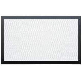 Teton Weather Resistant White/ Black Entry Mat