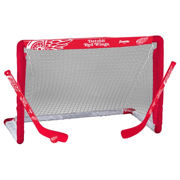 NHL Detroit Red Wings Mini Hockey Goal Set
