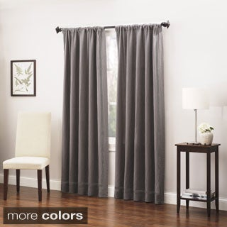 Roxbury Park Linen Triple Baratto Stitch Curtain Panel