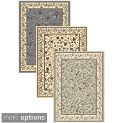 Admire Home Living Artisan Flower Garden Area Rug (3'3 x 4'11)