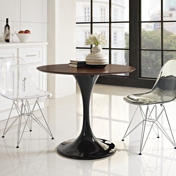 Black Walnut Top Dining Table