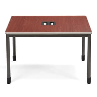 OFM Cherry Top Stainless Steel Workstation Table