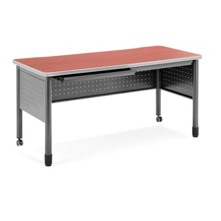 OFM Cherry Finish 55-inch Training Table