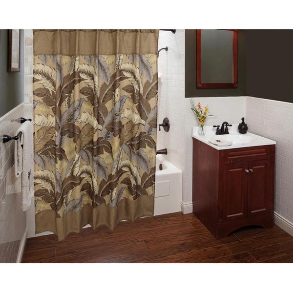 Sherry Kline Riviera Shower Curtain with Hook Set