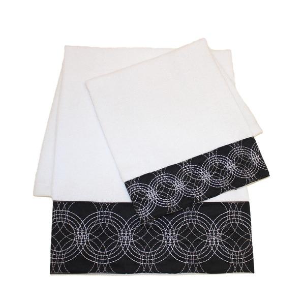 Sherry Kline Circa Embellished 4-piece Towel Set