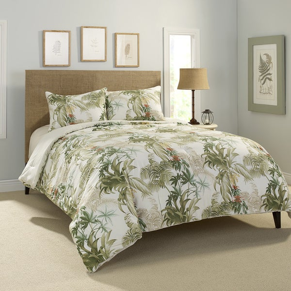 Tommy Bahama Rainforest Tropical 3 Piece Comforter Set