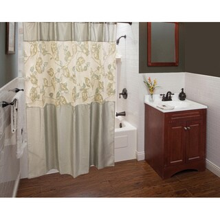 Sherry Kline Paradisio Shower Curtain with Hooks Set