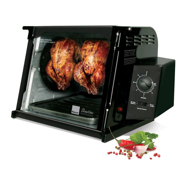 Shop Ronco St4000blgen Black 4000 Series Rotisserie Free