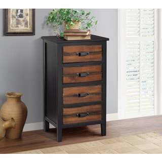 Gallerie Decor Adirondack 4-drawer Accent Cabinet
