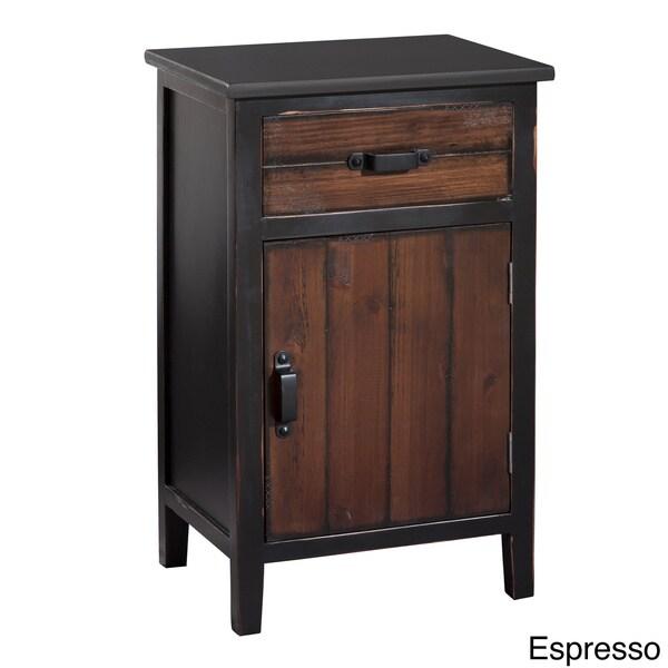 Gallerie Decor Adirondack One-drawer One-door Cabinet