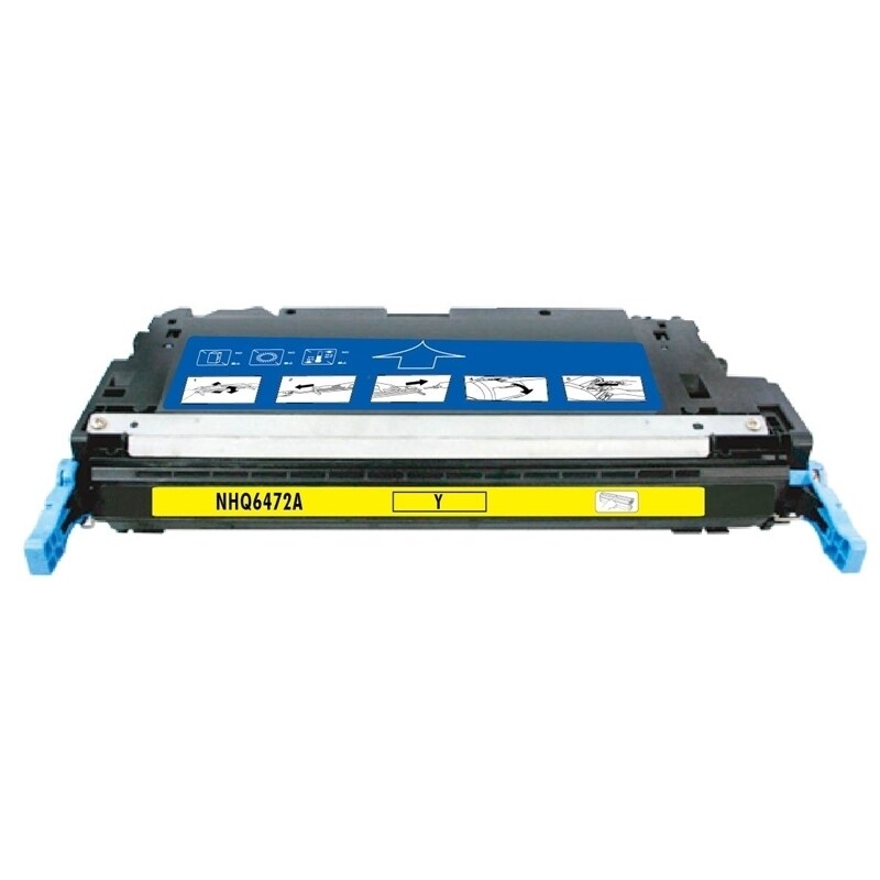 Insten Yellow Non-OEM Toner Cartridge Replacement for HP ...