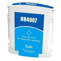 Insten Cyan Remanufactured Ink Cartridge Replacement for HP C4907AN/ C4903AN/ 940XL