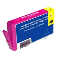 Refilled Insten Magenta Remanufactured Ink Cartridge Replacement for HP