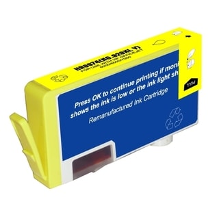 INSTEN HP 920XL Yellow Ink Cartridge (Remanufactured)