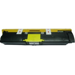 Insten Premium Yellow Color Toner Cartridge A00W162 for Konica-Minolta Bizhub C10/ C10X