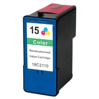 INSTEN Lexmark 15 Color Ink Cartridge (Remanufactured)