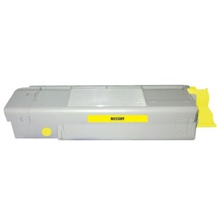 Insten Premium Yellow Color Toner Cartridge 43324401 for OKI C5500/ C5650/ C5800