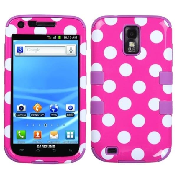 BasAcc Dots TUFF Hybrid Case for Samsung T989 Galaxy S2 S II