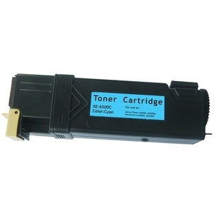 Insten Premium Cyan Color Toner Cartridge WC6505/ 106R01594/ 106R1591 for Xerox Phaser 6500/ 6500n
