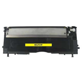 Refilled Insten CLT-Y409S Yellow Non-OEM Toner Cartridge Replacement for Samsung CLP 310/310N/315/315W