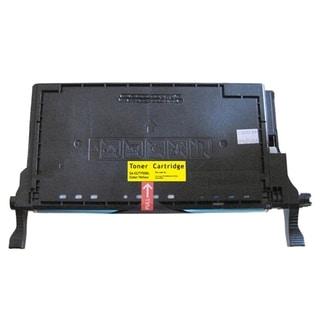 Insten Premium Yellow Color Toner Cartridge CLT-Y508S/ L for Samsung CLP-620/ 670