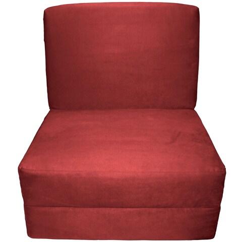 Pine Canopy Tuskegee Microfiber Suede Sleep Chair Bed