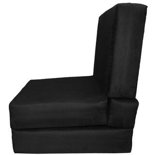 Nomad Adult Microfiber Suede Foam Sleeper Chair Bed