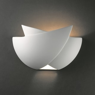 Justice Design Group 1-light Fema Ceramic Sconce