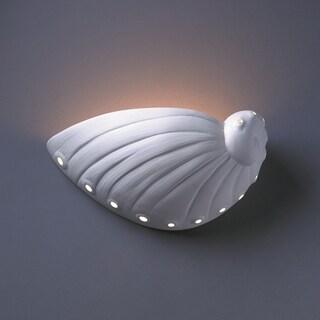 Abalone Shell Ceramic 1-light Sconce