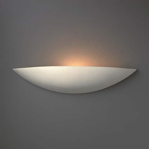 Carson Carrington Saljaker 1-light ADA Small Ceramic Sconce