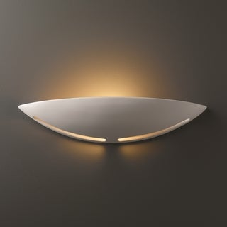 Small Slice Ceramic 1-light ADA Sconce