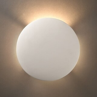 Circle Ceramic 1-light ADA Sconce