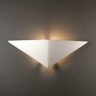 Triangle Ceramic 1-light ADA Sconce