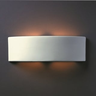 Arc Multi Directional Ceramic 2-light ADA Sconce
