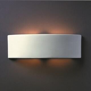 Arc Multi Directional Ceramic 2-light ADA Sconce