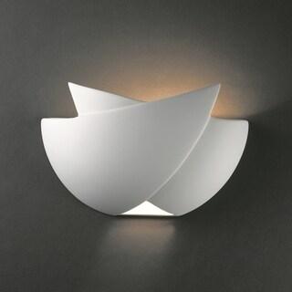 Fema Ceramic 1-light ADA Sconce