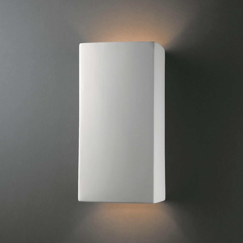 Clay Alder Home Anoka Multi-directional Rectanglular 2-light Ceramic Sconce
