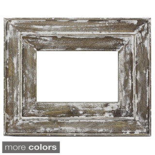 Handmade Timbergirl Distressed Wood Photo Frame (India)