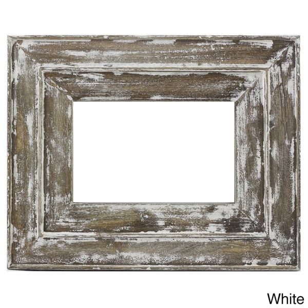 handmade timbergirl distressed wood photo frame india
