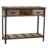 Pine Canopy Siskiyou Wood Console Table