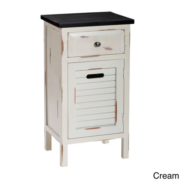 Gallerie Decor Shoreham One-drawer One-door Accent Cabinet