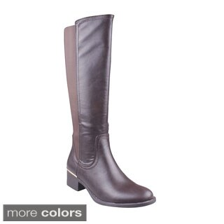 Refresh Women's 'Alto-01' Knee-high Riding Boots