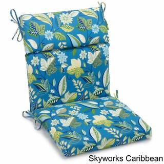"Blazing Needles 42-inch Indoor/Outdoor Chair Cushion - 42"" x 20"""