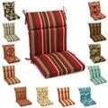 Blazing Needles 42 x 20-inch Designer Outdoor Chair Cushion