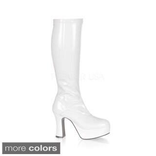Funtasma Women's 'Exotica-2000' Chunky Heel Gogo Boots