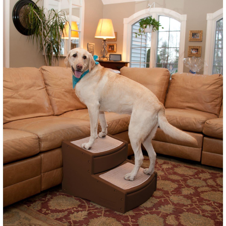 Pet Gear Extra Wide Easy Step II Pet Stair (Tan), Brown