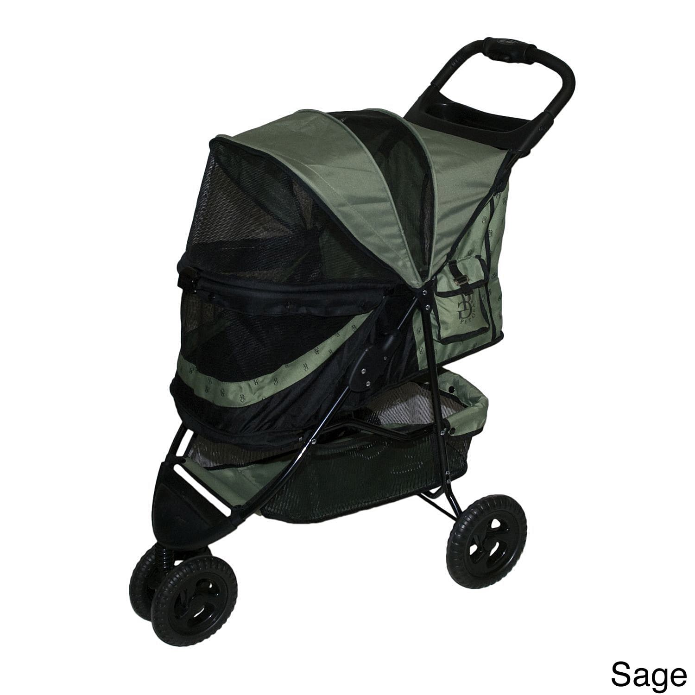Pet Gear No-Zip Special Edition Pet Stroller (Green), Siz...